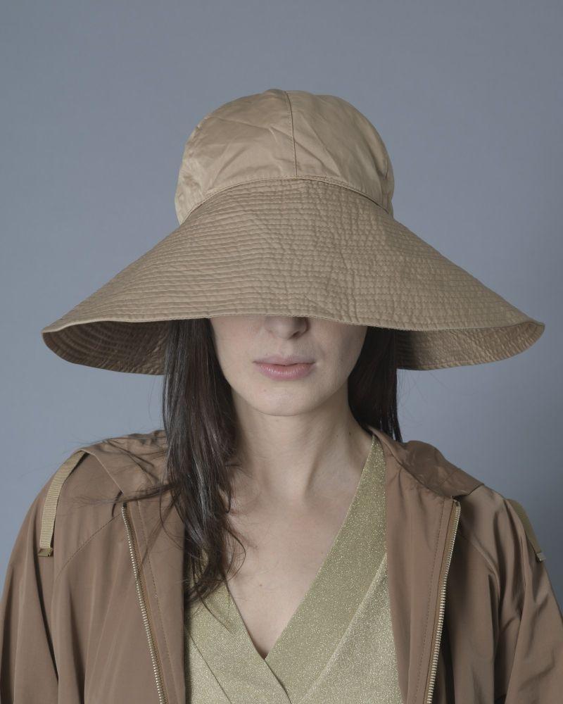 Chapeau marron Maliparmi