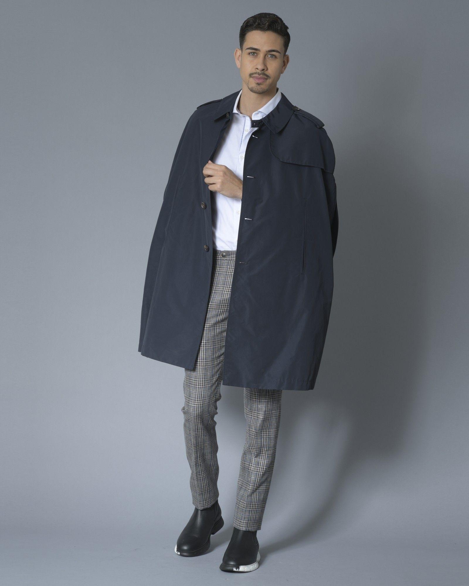 Pantalon Marron carrelé Ly Adams