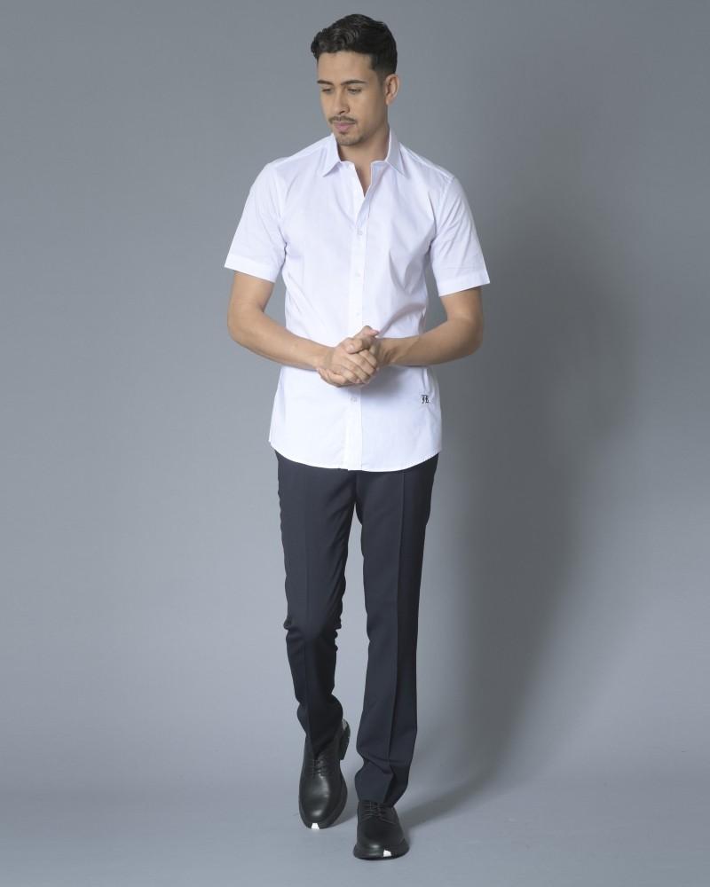 Pantalon tailleur en laine bleu Zadig & Voltaire