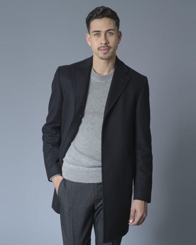 Manteau noir Nino Danieli