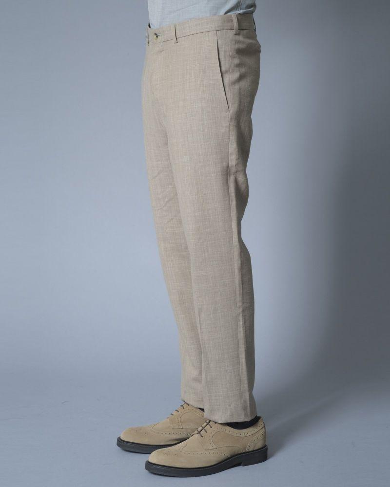 Pantalon en laine et lin Editions M.R