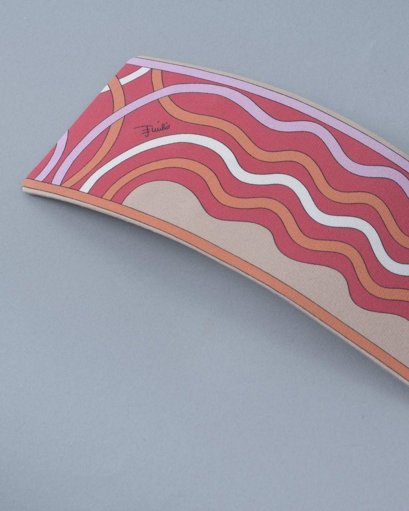 Ceinture rose/orange/blanc/beige Emilio Pucci