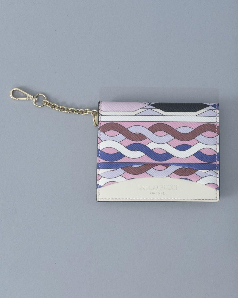 Porte Monnaie violet/beige/bleu/rose/noir Emilio Pucci