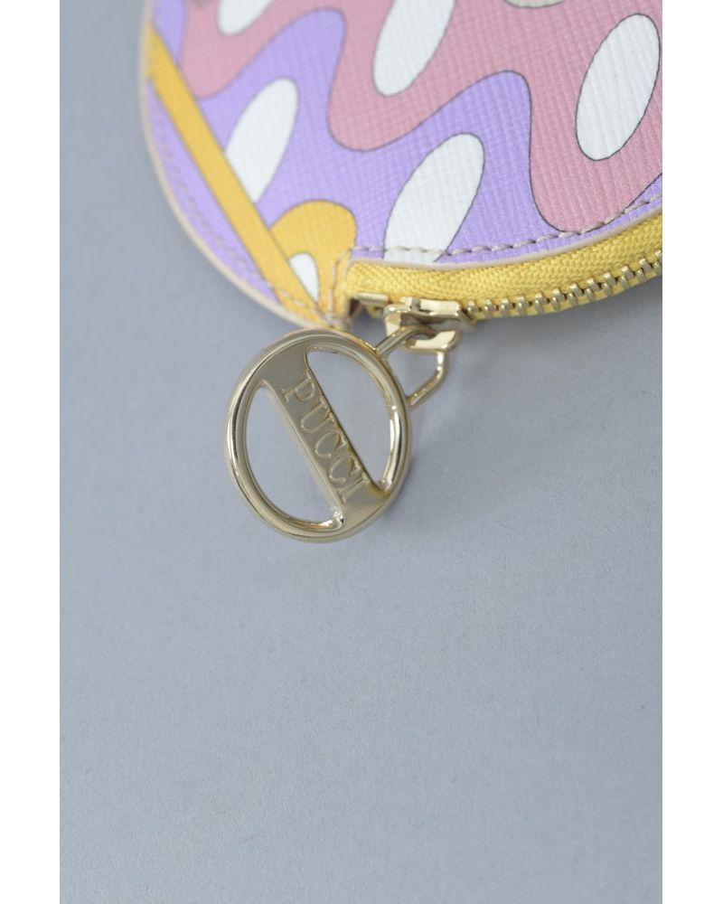Porte-clés à motifs géométriques Emilio Pucci