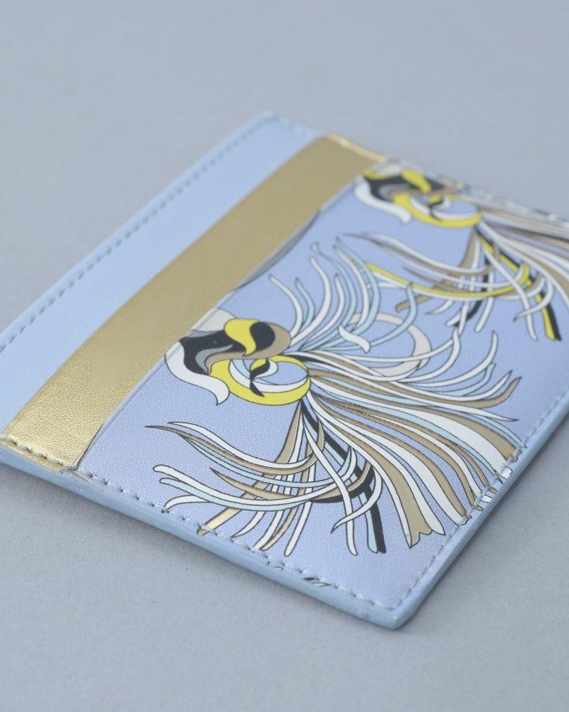 Porte-cartes à motif festive Emilio Pucci