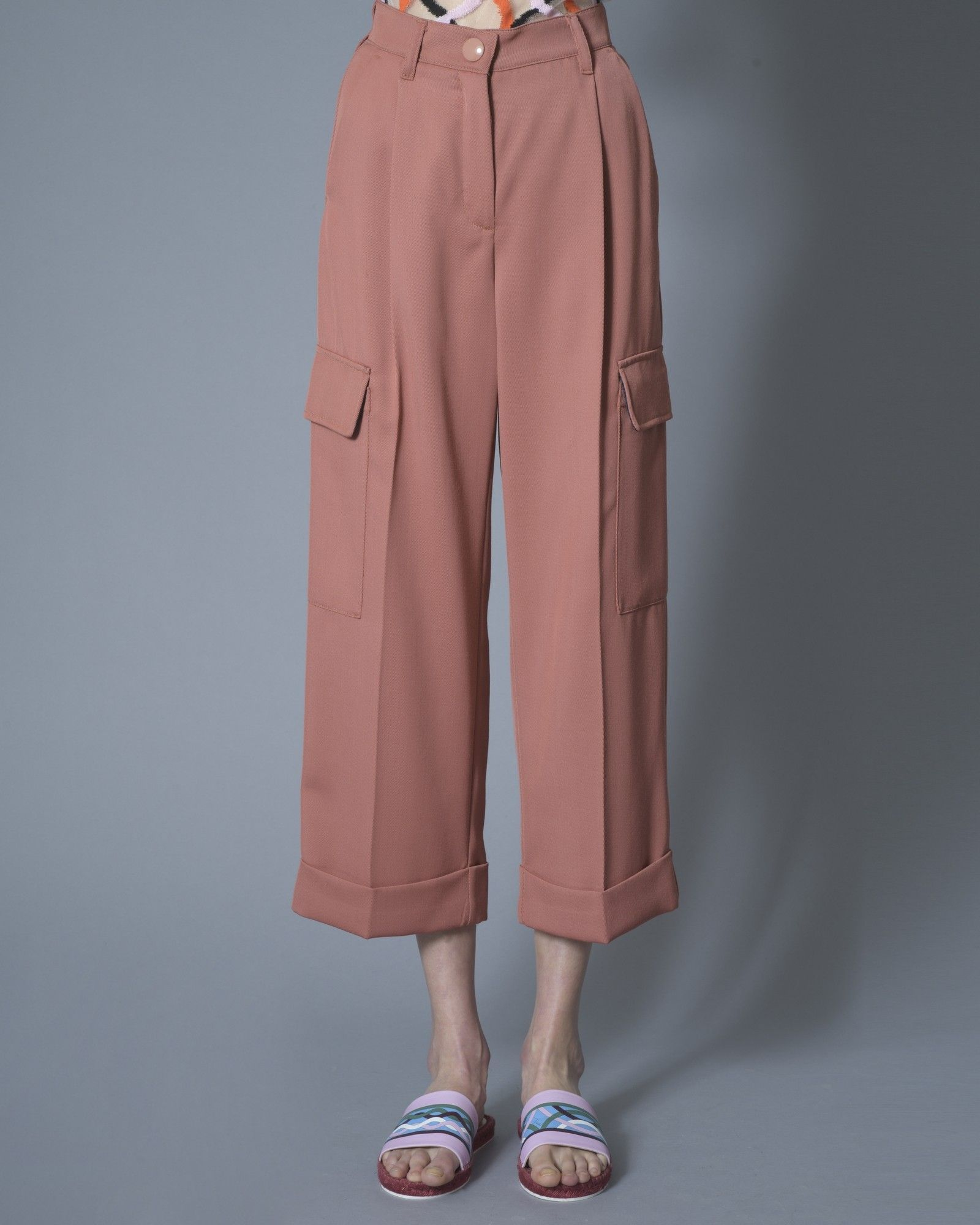 Pantalon rose Momoni