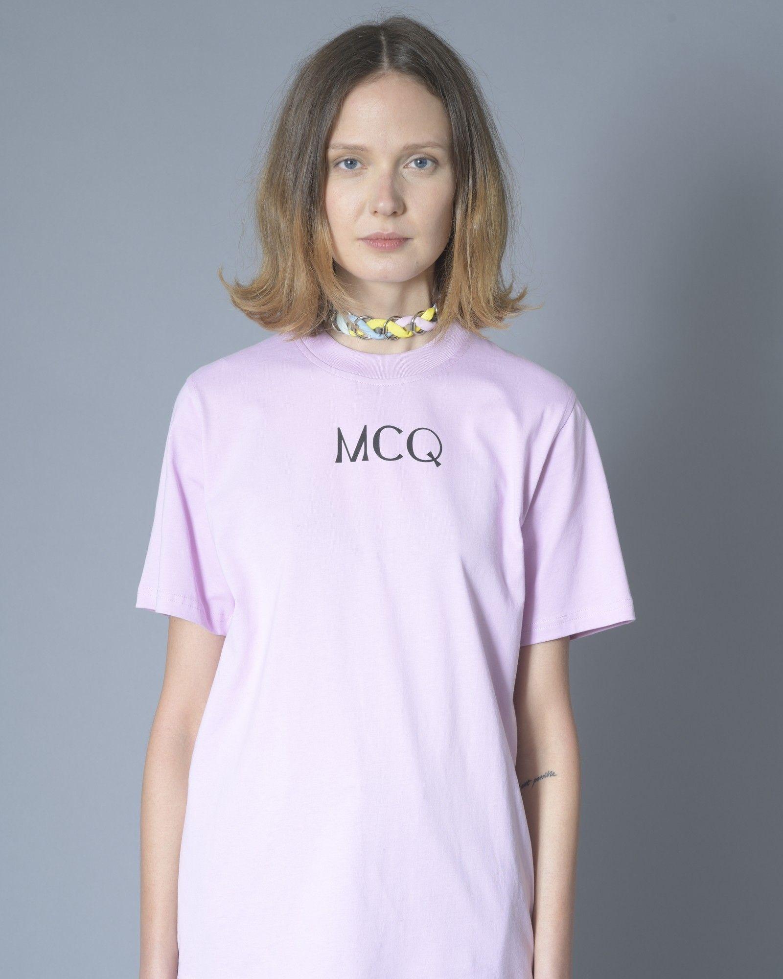 T-shirt violet Alexander McQueen