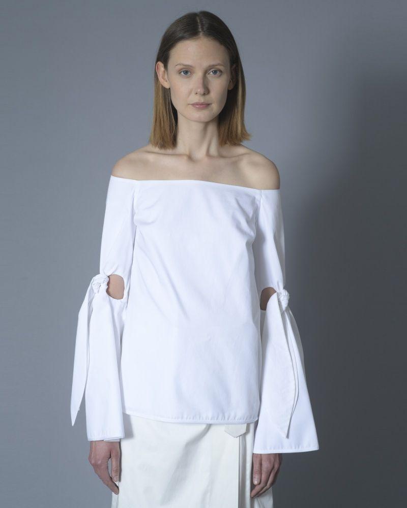 Haut Blanc épaules nus Ellery