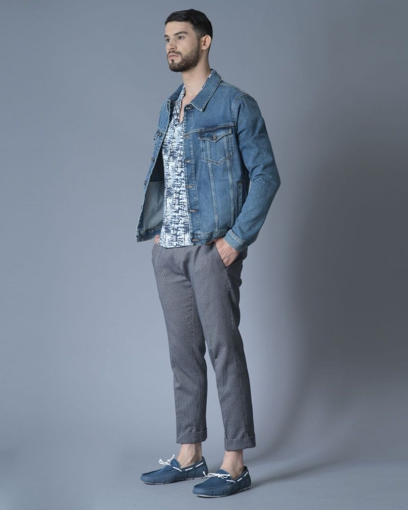 Blouson Jean à boutons 7 for All Mankind