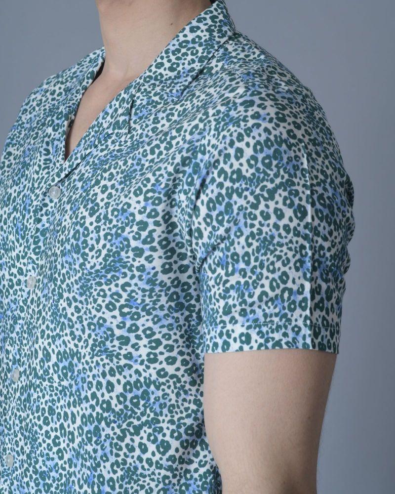 Chemise à imprimé animal Daniele Fiesoli
