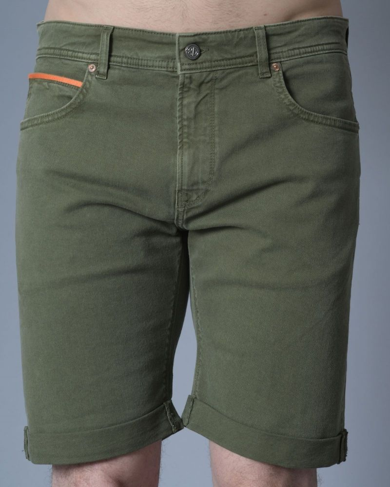 Short Jean Vert 3D