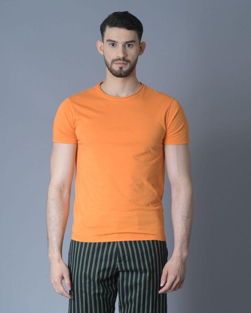 T-shirt Orange Daniele Fiesoli