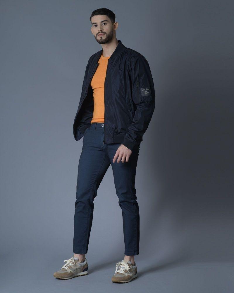 Pantalon en coton texturé Re-Hash