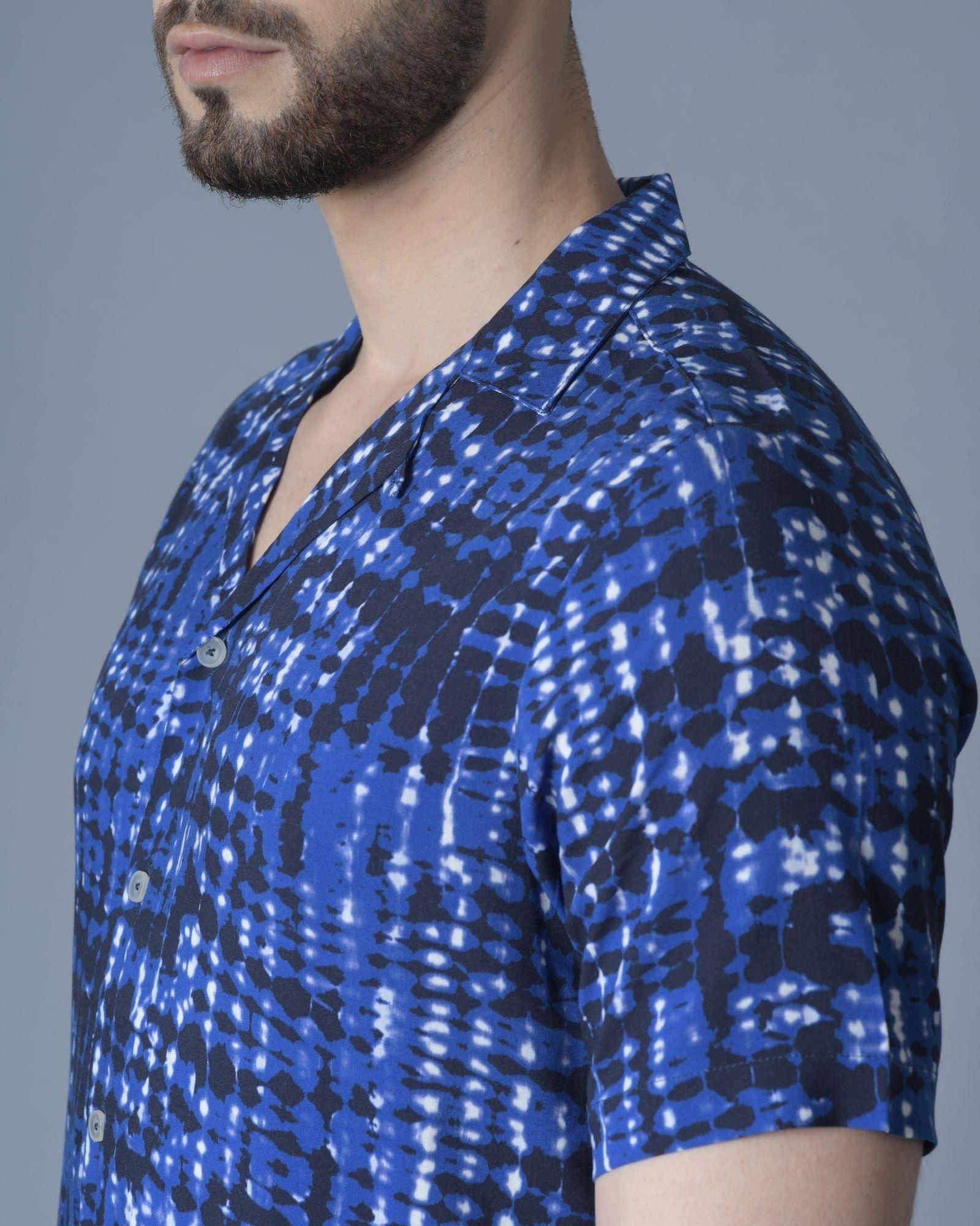 Chemise Bleu Daniele Fiesoli