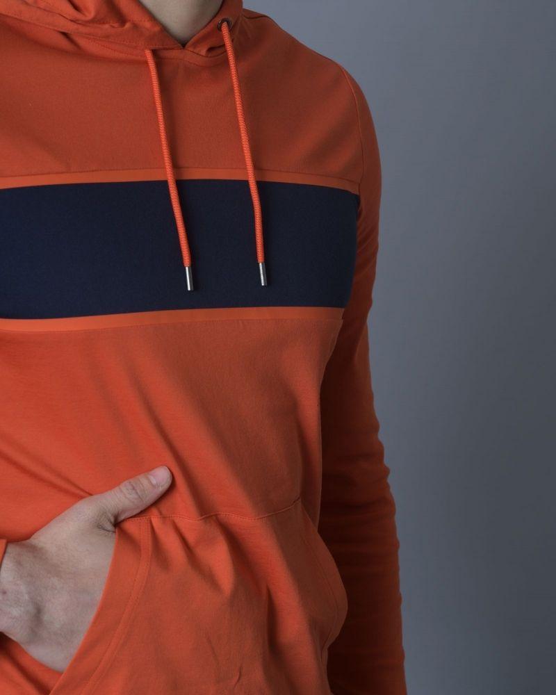 Sweat en jersey de coton à capuche Michael Kors