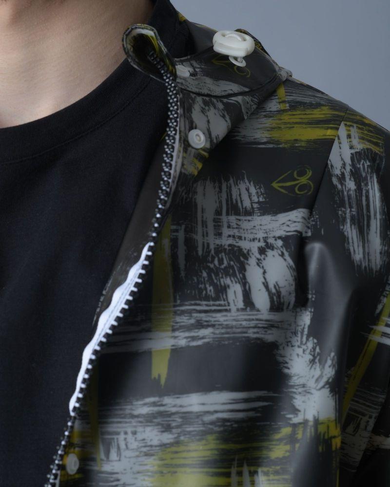 Veste à capuche en PVC Moose Knuckles
