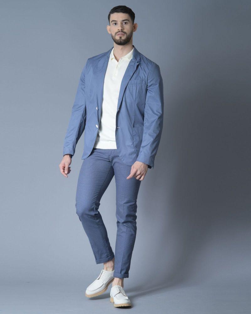 Veste blazer imperméable à boutons Gelso Nero
