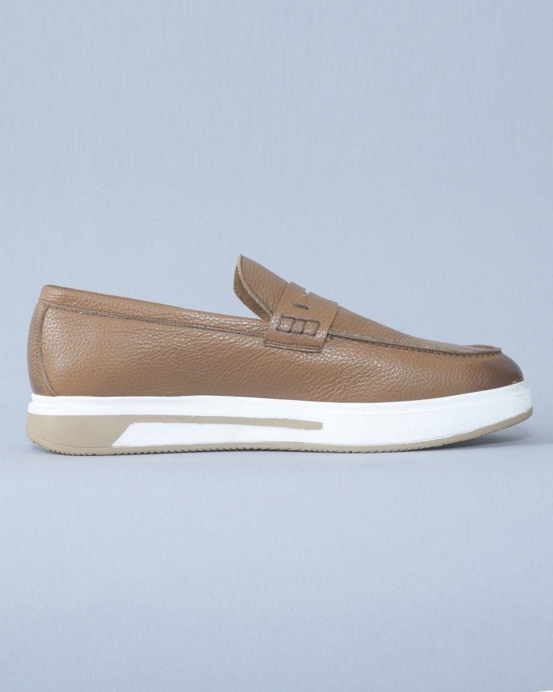 Chaussure Marron avec semelle Blanche Eleventy