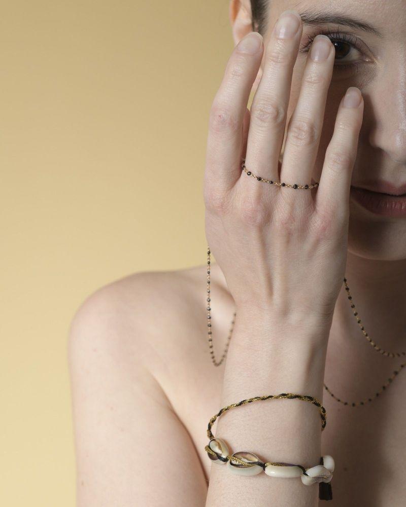 Bracelet à coquillages Polder
