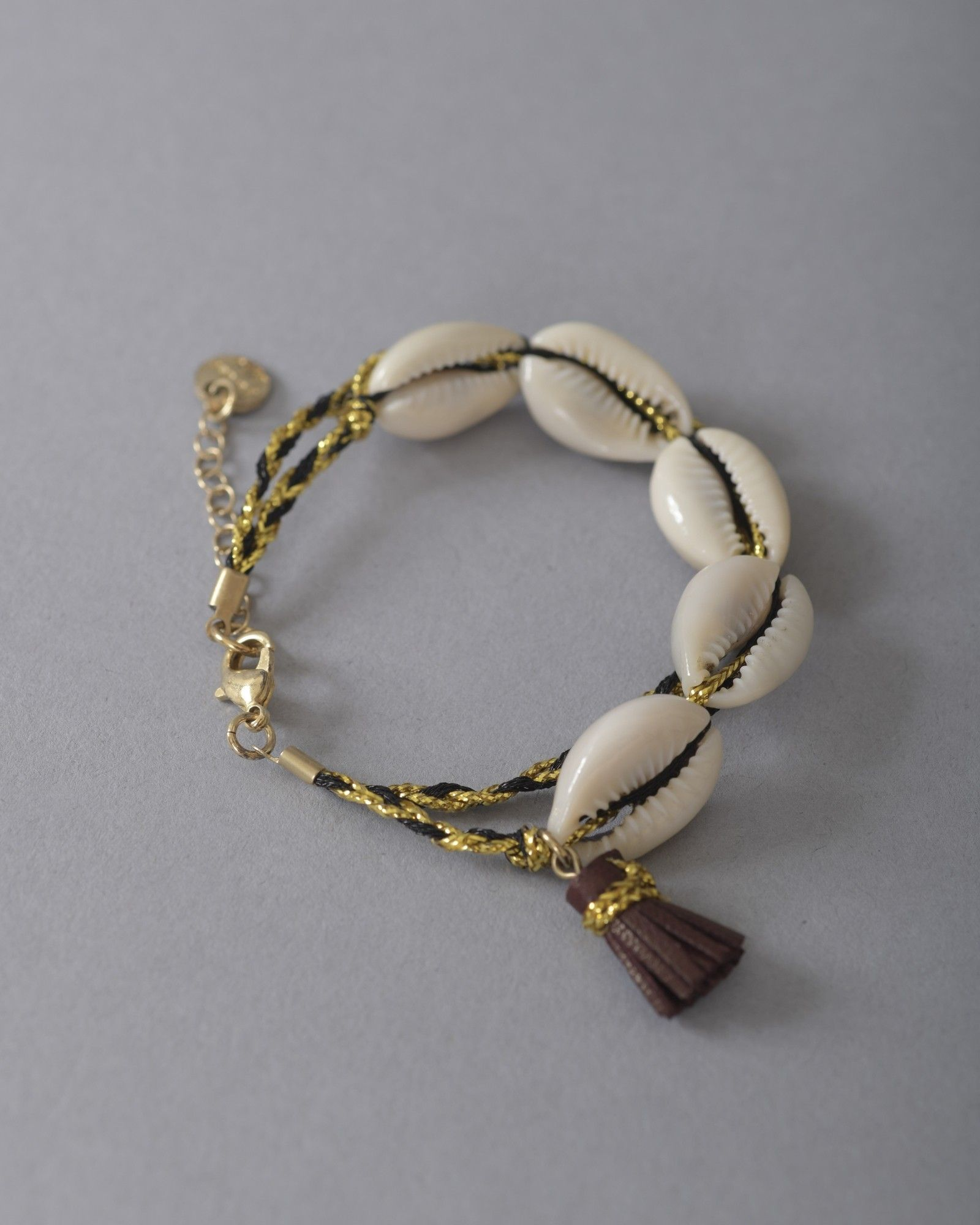 Bracelet avec coquillages Polder