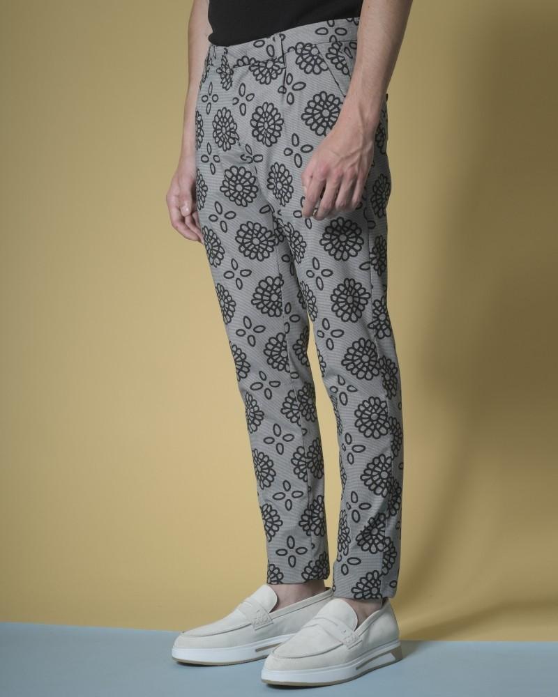 Pantalon à imprimé...