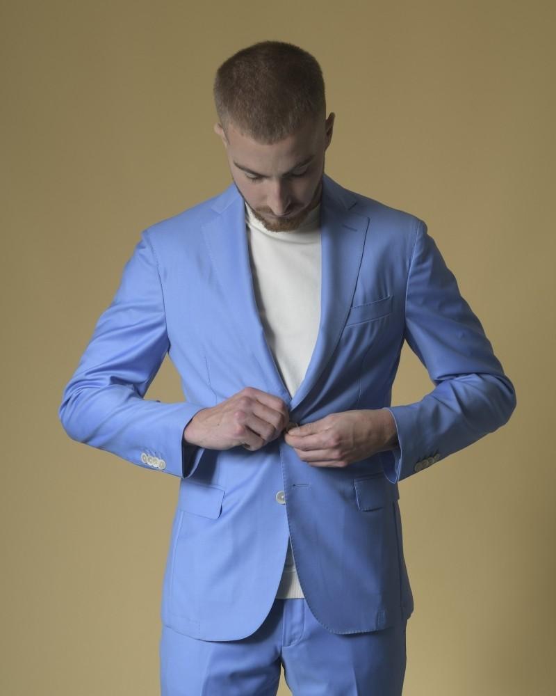 Costume en laine à simple boutonnage Luca Roda