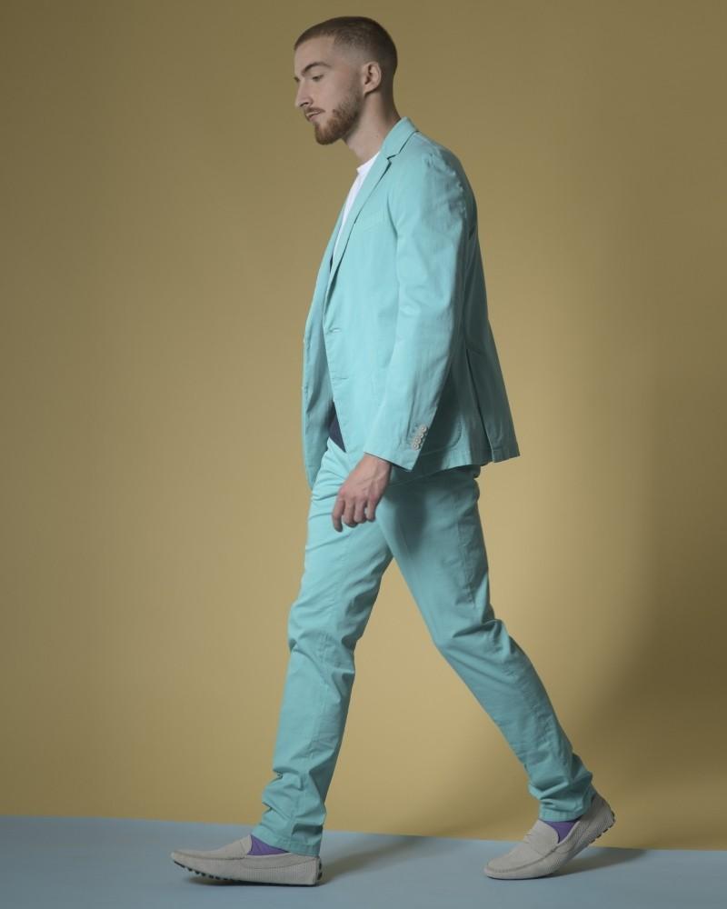 Costume en coton mélangé à simple boutonnage Luca Roda