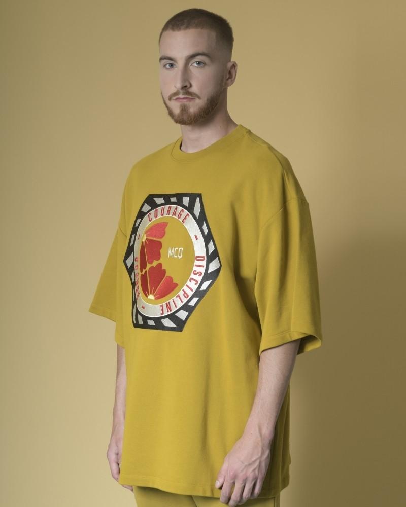Sweat-shirt à imprimé brodé...