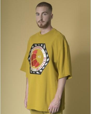 Sweat-shirt à imprimé brodé Alexander McQueen