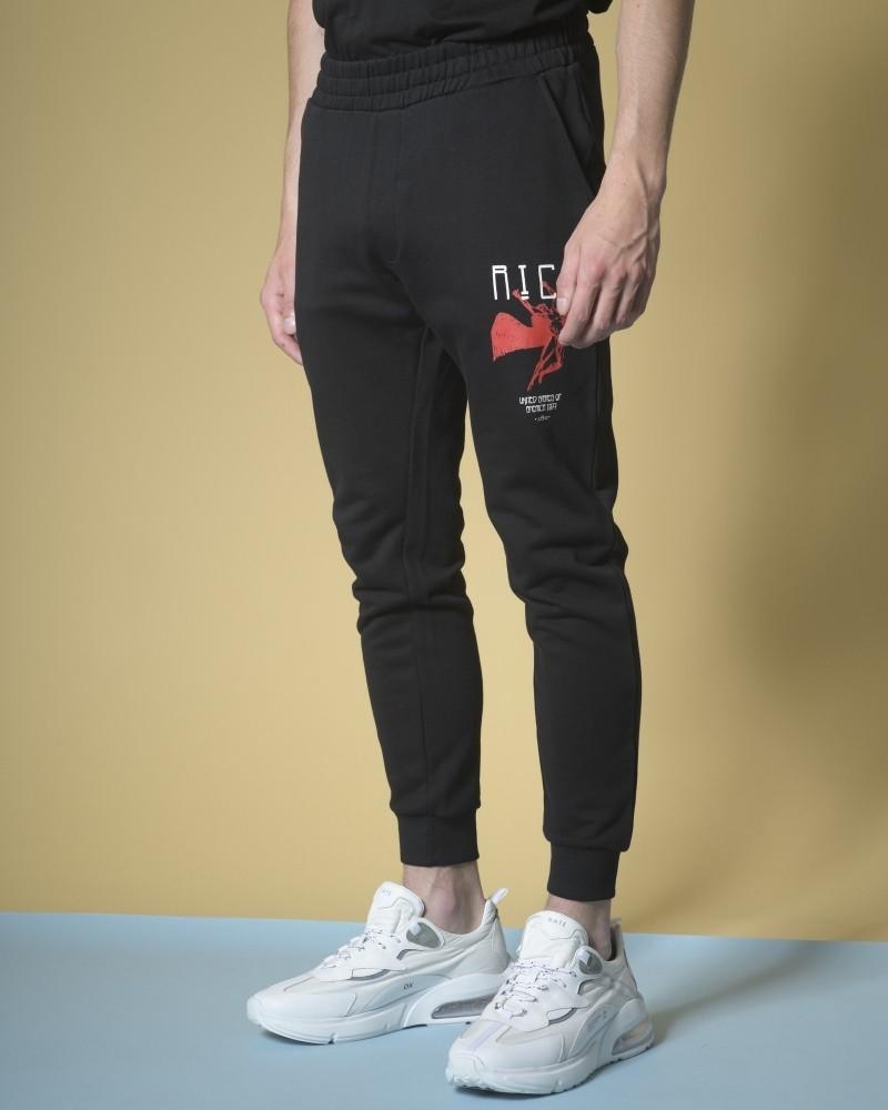 Pantalon de survêtement en jersey de coton John Richmond