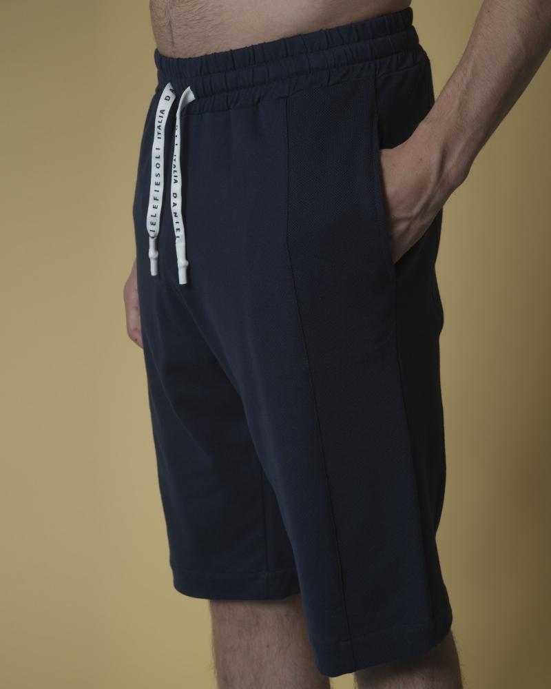 Short de jogging en jersey de coton Daniele Fiesoli