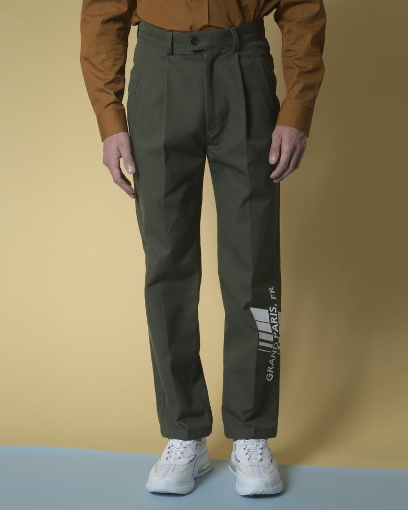 Pantalon en jersey de coton...