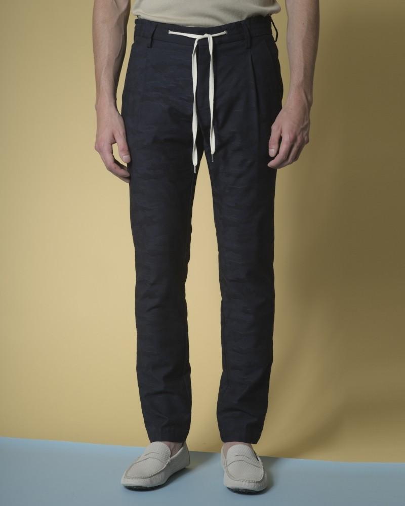 Pantalon en coton à...