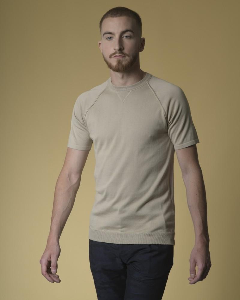 T-shirt en jersey de coton Daniele Fiesoli