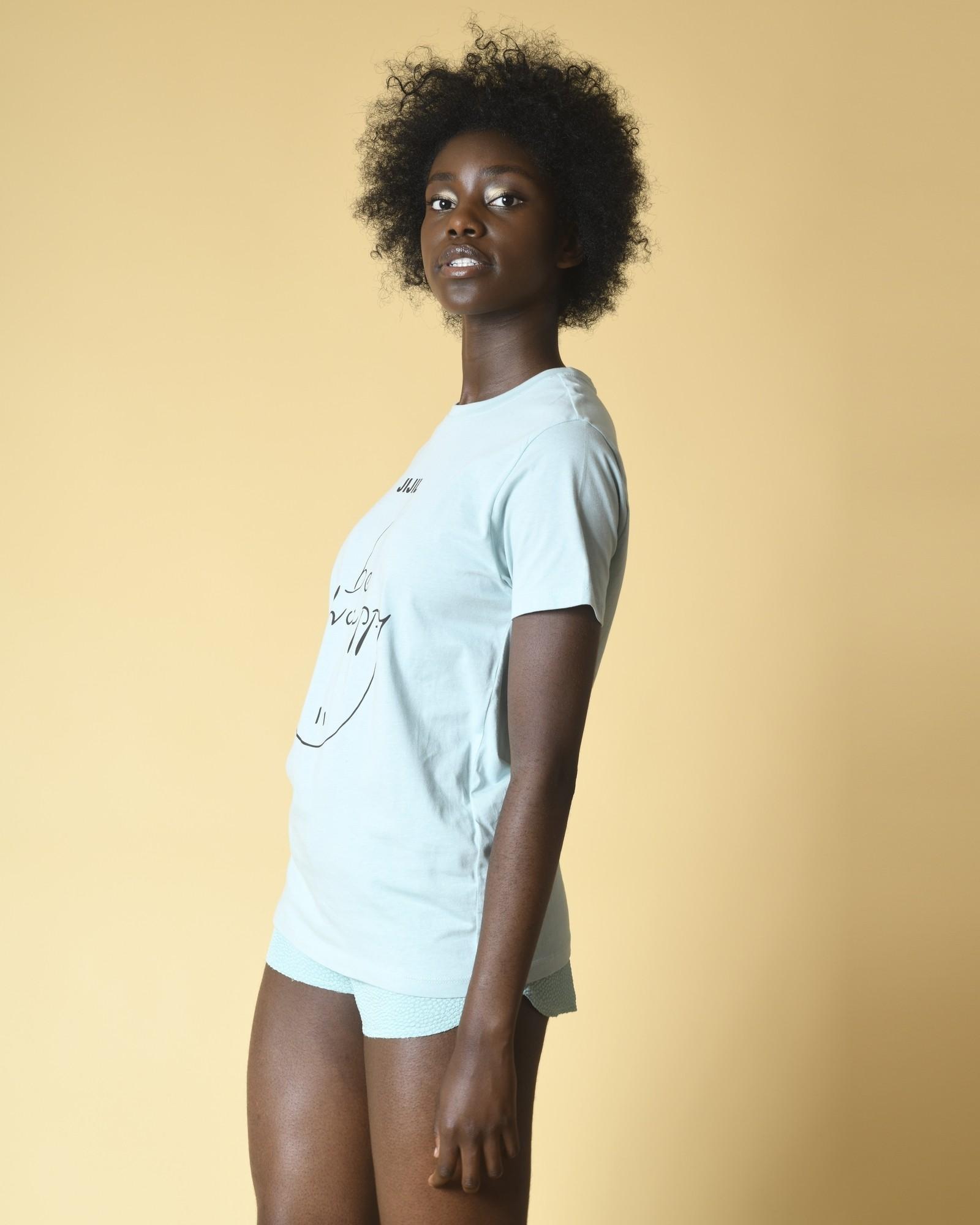 T-shirt en jersey de coton imprimé Jijil