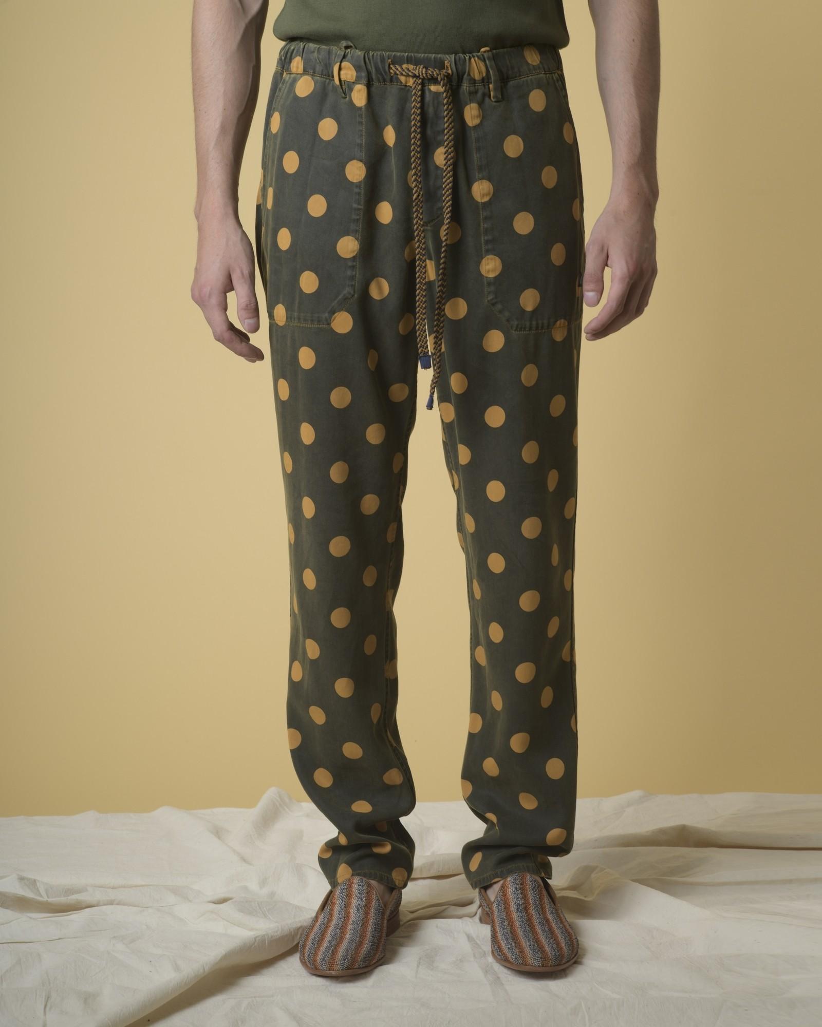 Pantalon en serge...