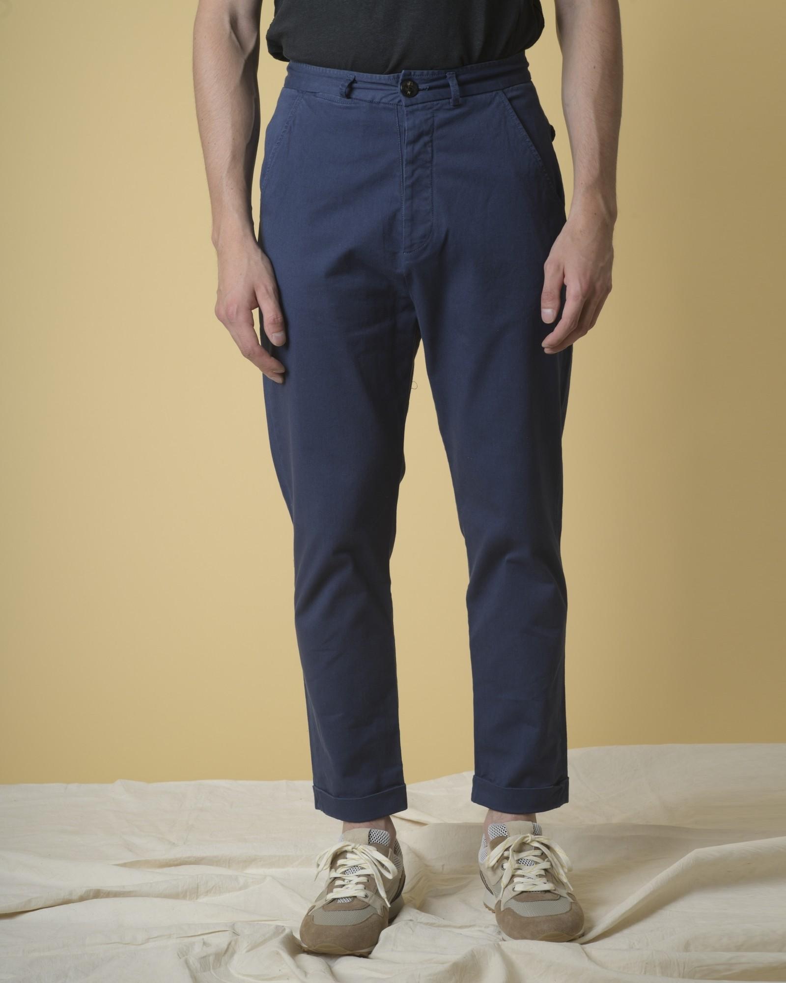 Pantalon fuselé en coton Soho so nice