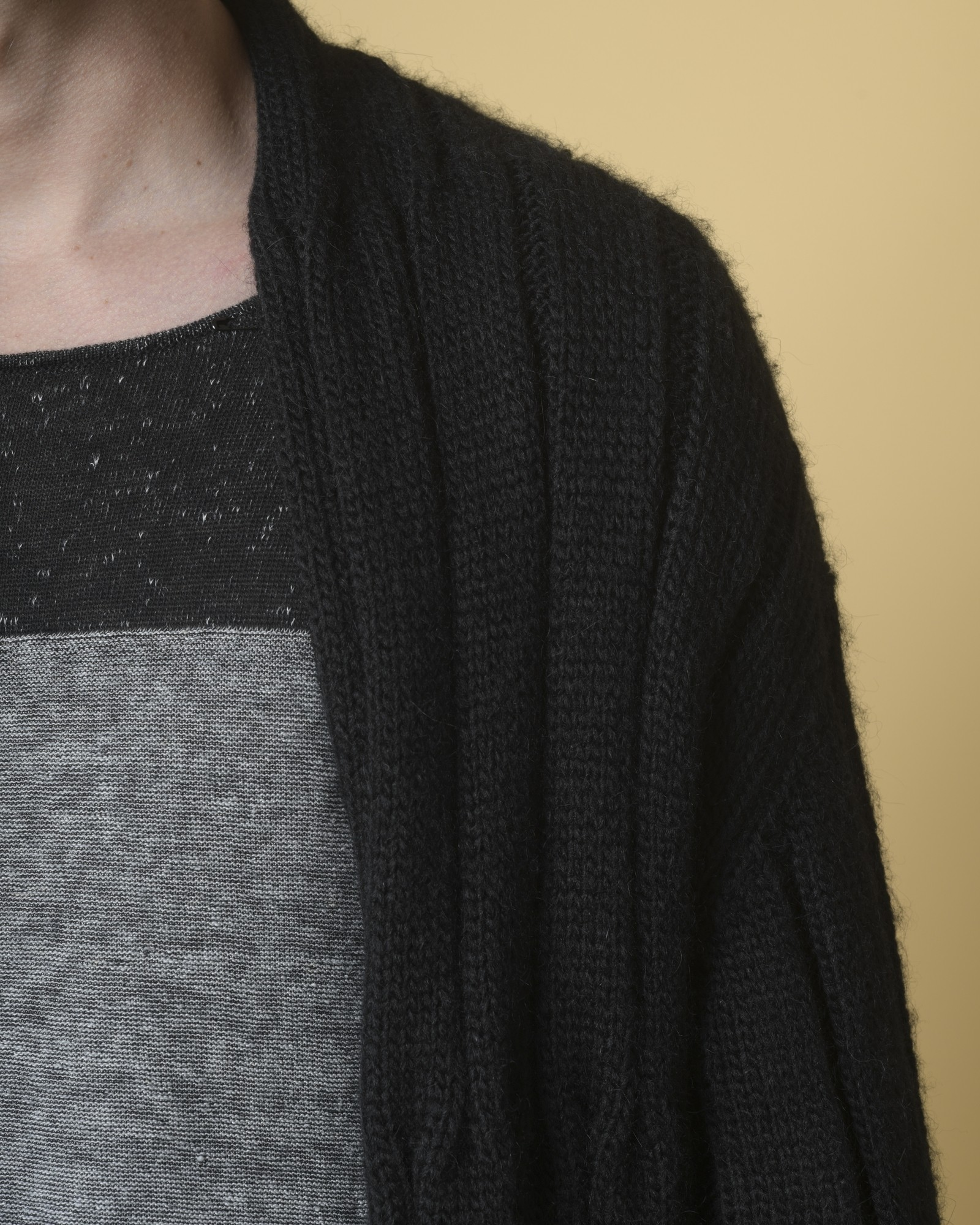 Cardigan en maille long Lost and Found