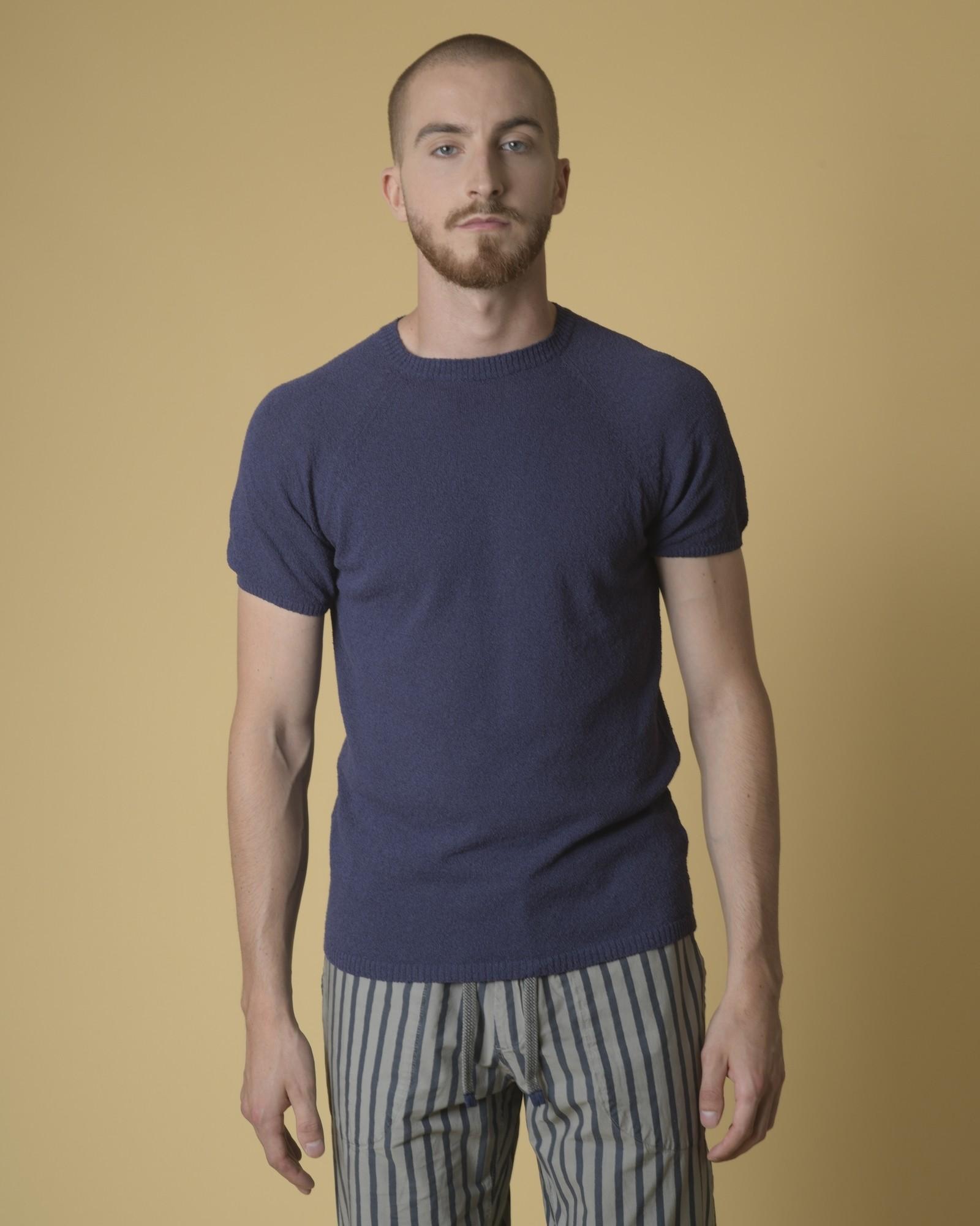 T-shirt en coton mélangé...