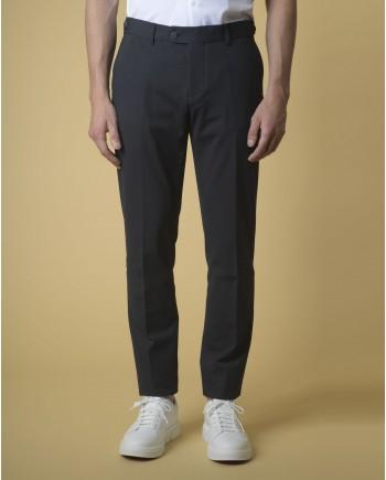 Pantalon slim à mini imprimés Blue Industry