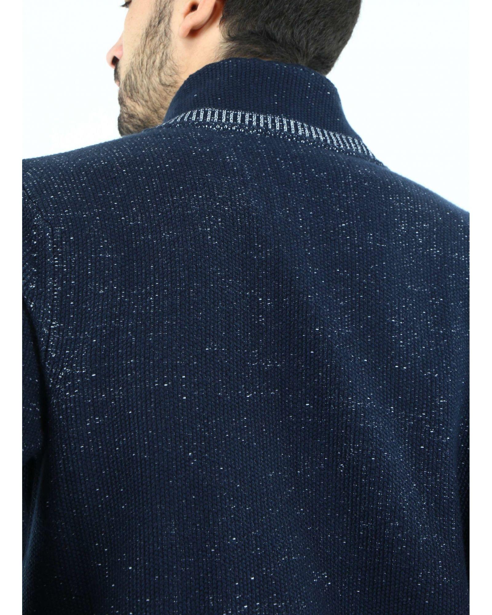 Veste bleue souple Trussardi