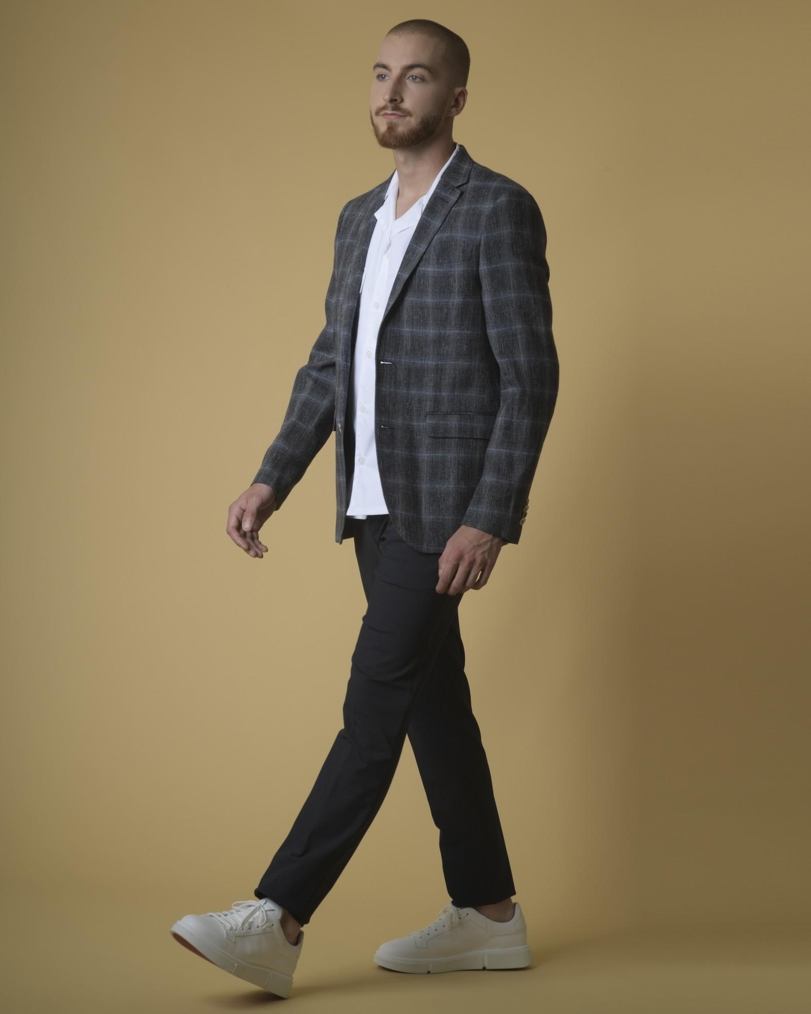 Chemise en coton à poches Daniele Fiesoli