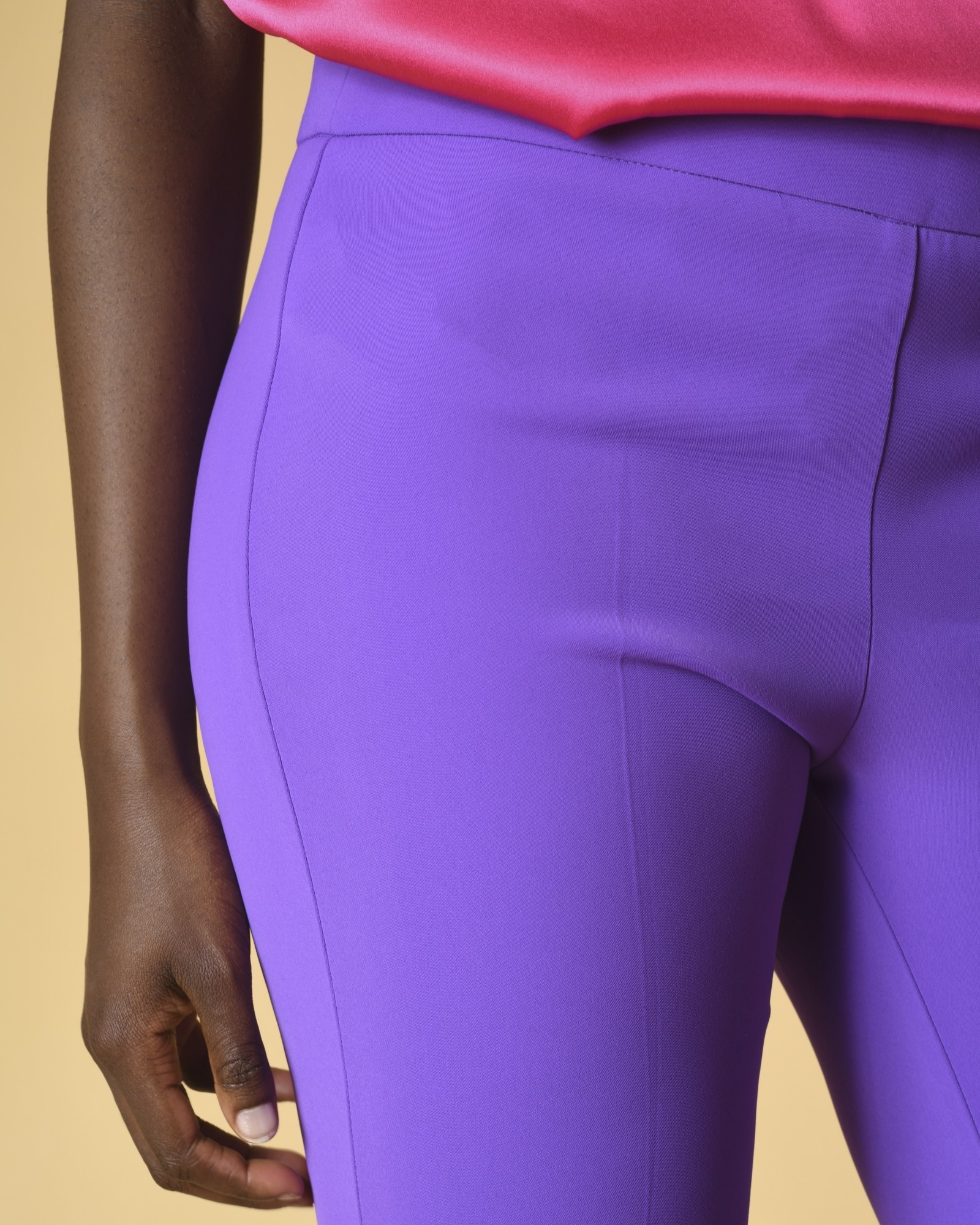 Pantalon violet Space Simona Corsellini