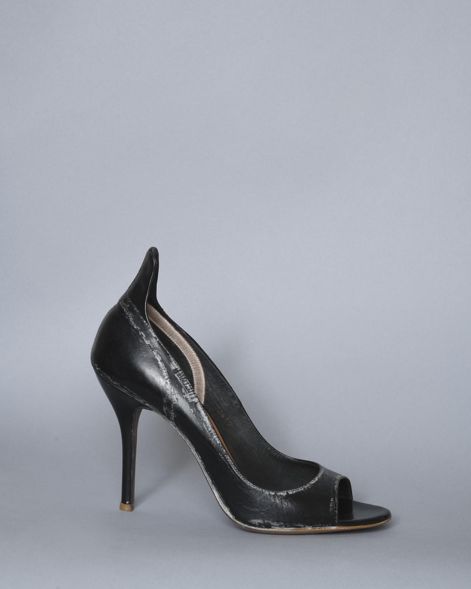 Sandales en cuir effet...