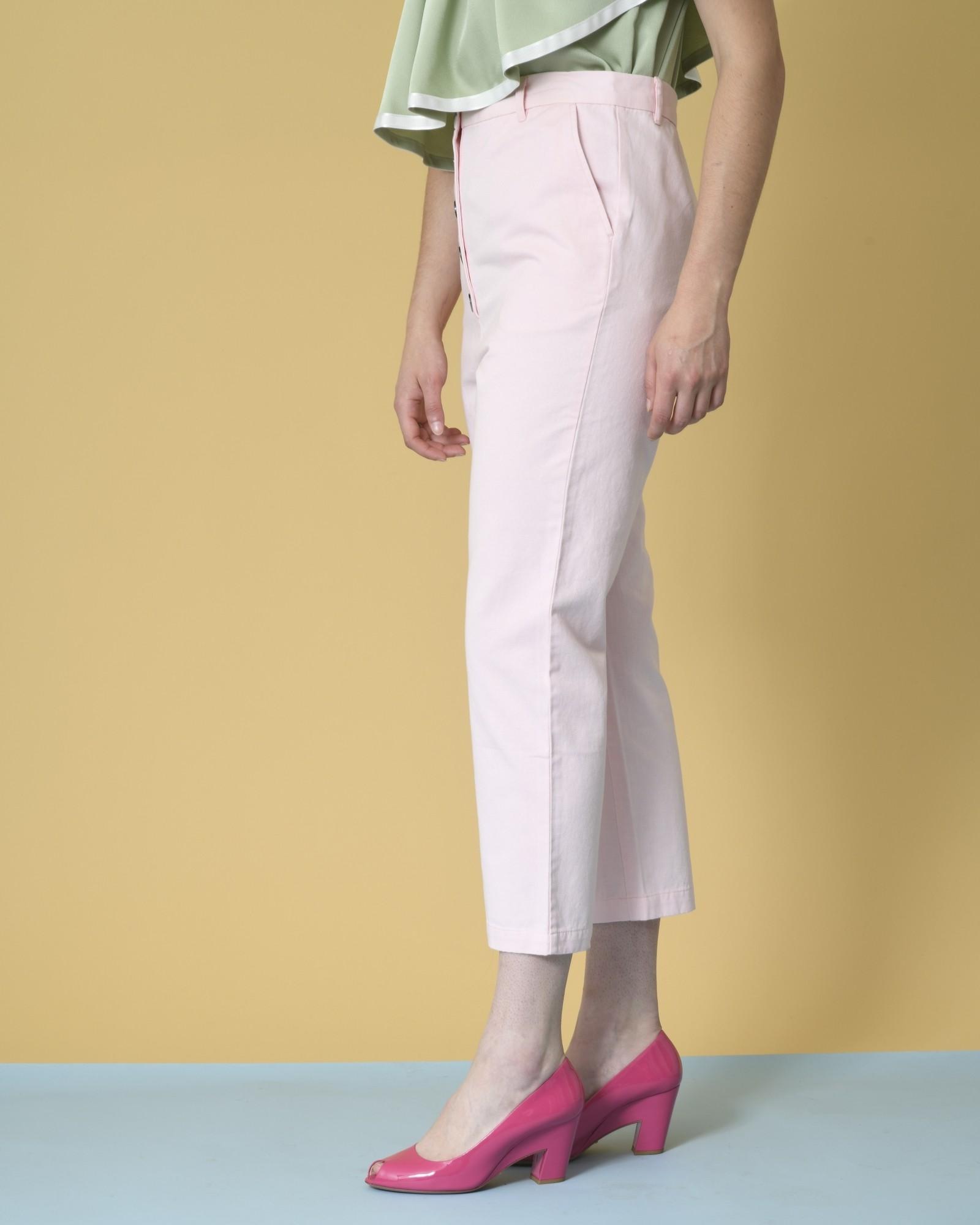 Pantalon fuselé raccourci en coton Bella Jones