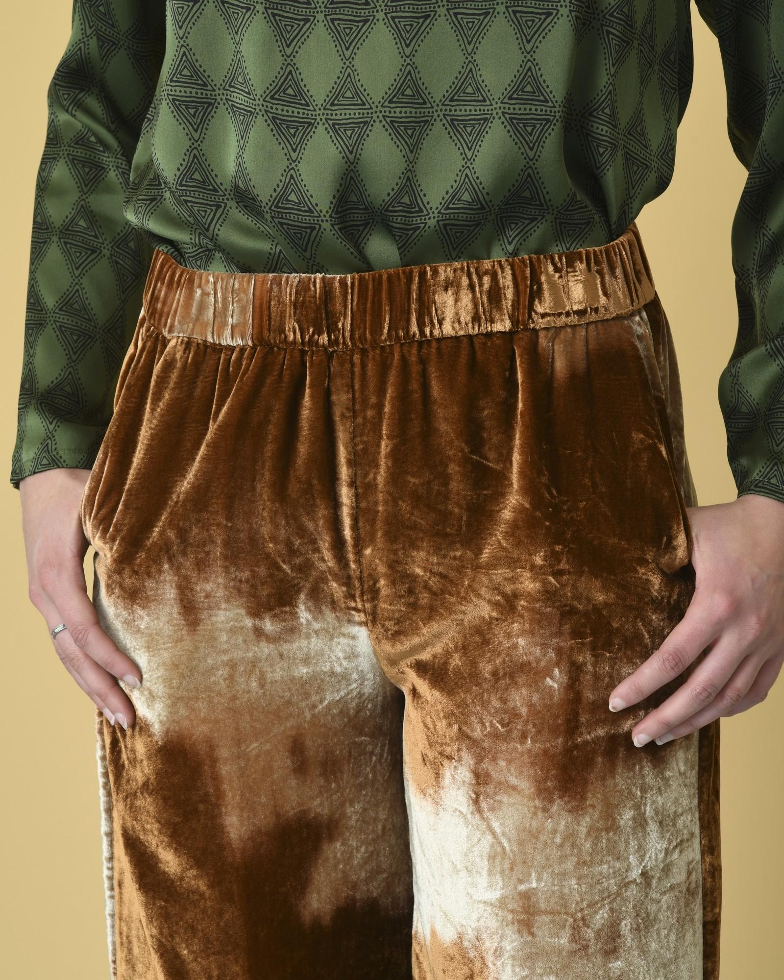 Pantalon en velours à effet tie & dye Diega