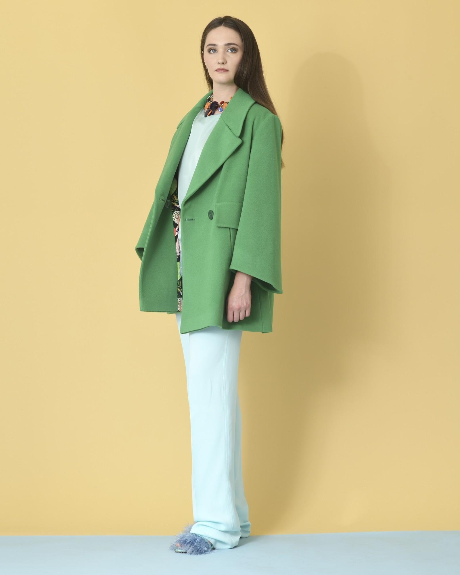 Manteau vert Mouche