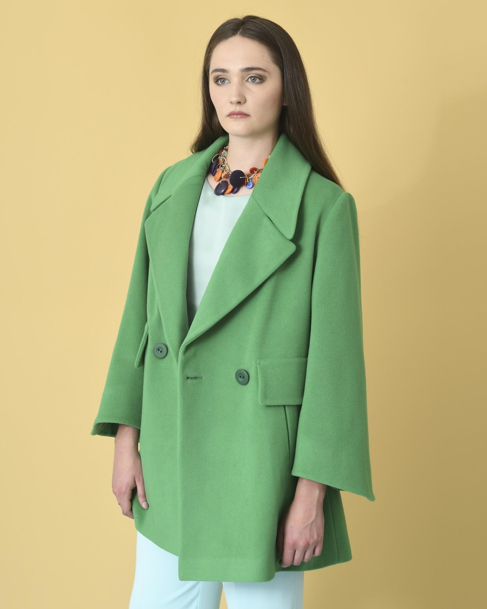 Manteau en laine et cachemire Mouche
