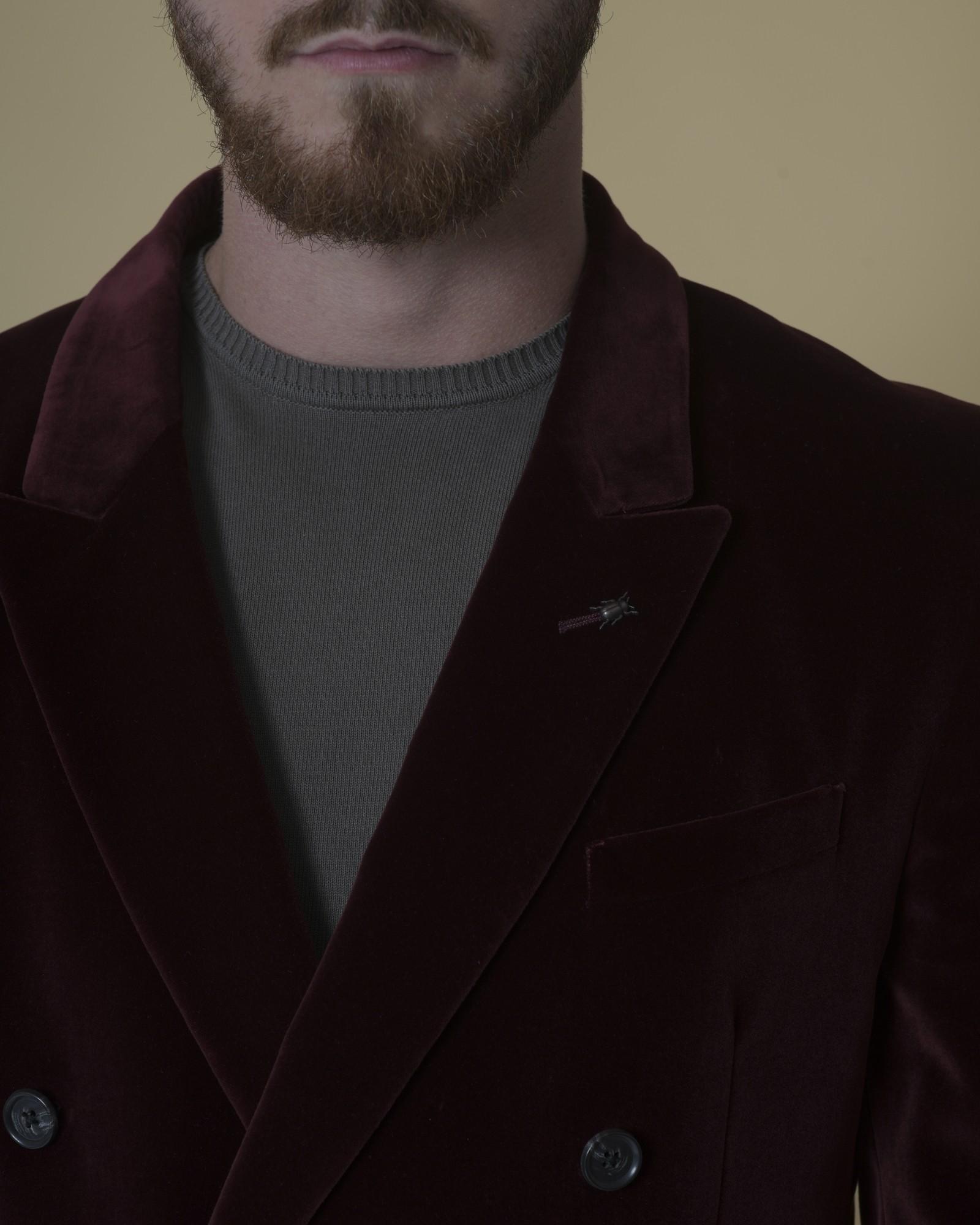 Veste en velours à double boutonnage Corneliani