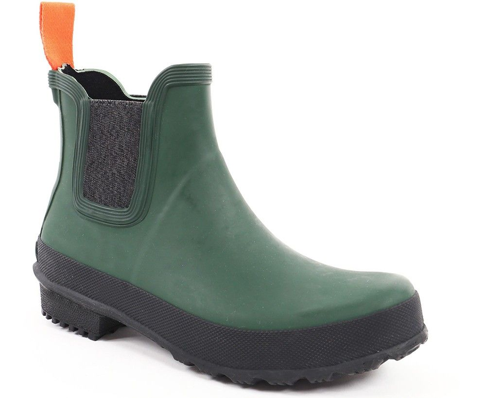 Bottines de pluie verte Swims